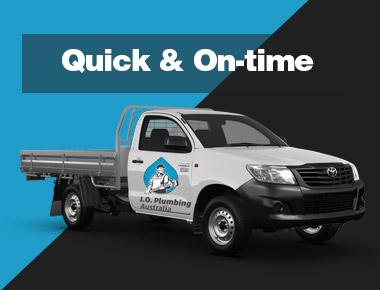 on-time plumbing, same day plumbers Melbourne